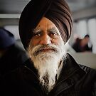 An Indian man on the Sorrento ferry by Mick Kupresanin
