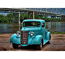 1938 Chevrolet Pickup Truck Hot Rod Photographic Print
