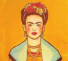 Frida Kahlo by fixtape