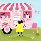 The Ice Cream Shoppe Cats by Ryan Conners