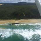 Flying over Fraser Island by PhotosByG