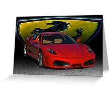 Ferrari F430 Scuderia III Greeting Card
