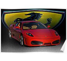 Ferrari F430 Scuderia III Poster