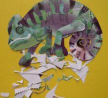 chameleon by Ruud van Koningsbrugge