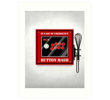 Button Mash Art Print