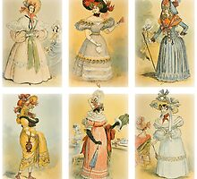 Vintage French fashion (18th-19th century) by VintageLevel