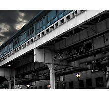 New York Subway Overpass Photographic Print