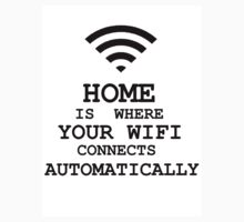 Home is where your WIFI connects automatically. by incorgnito