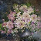 White Floral by Mary  Lawson