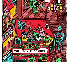 THE MOVIE ARCHIVE by jangojim