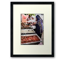 Tradition in Modern Times Framed Print