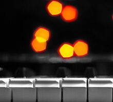 Synthesizer & Bokeh Lights by StephenRphoto