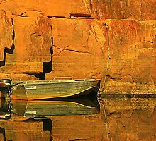 Moored at Katherine Gorge by myraj