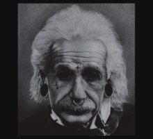 Albert Einstein by BurbSupreme