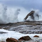 Bicheno Blowhole by David Haworth