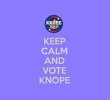 Vote Knope by Jim Princivalle