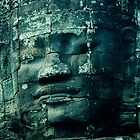 Faces of Bayon by Kerry Purnell