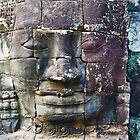 Faces Of Bayon 2 by Kerry Purnell