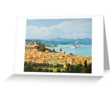 Memories of Corfu Greeting Card