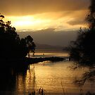Bruny Island sunset  #9279 by gaylene