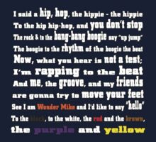 Rapper's Delight - lyrics by inkpossible