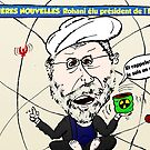 Rohani caricature politique de Iran by Binary-Options