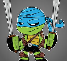 Leonardo by MikeSpiersArt