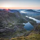 Snowdon Sunrise by James Grant