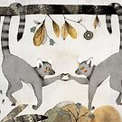 Lemurs In Love by Judith Loske