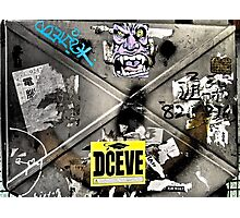 deceive...art...Hong Kong Photographic Print