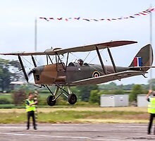 DH82 Queen Bee LF858 G-BLUZ by Colin Smedley