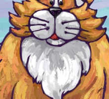 Animal Parade Ginger Cat Sticker