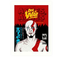 Dog of War (Ashes to Ashes) Art Print