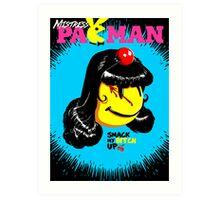 Mistress Pac Man Art Print
