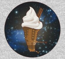 Dalek Ice-Cream a Treat in Space and Time Kids Clothes