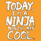 Today, I'm a ninja. by MoonyIsMoony