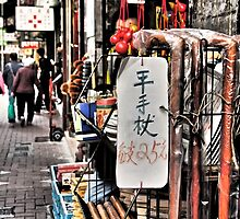 in the middle of the district Sheung Wan Hong Kong by LoveDutchArtEbs