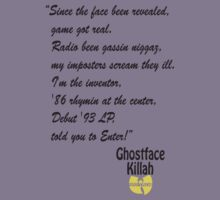 Ghostface by STKYSituations
