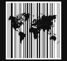 World Barcode (White) by prettywitty