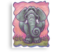 Animal Parade Elephant Canvas Print