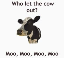 Funny Cow Song Joke by MarinaArts