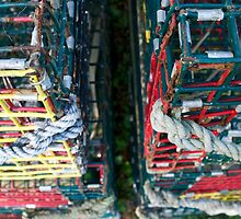 lobster pots in the off season by kejube