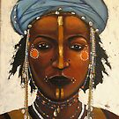 Tahoua Dancer, Nigers by Sandy Taylor