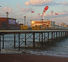 Paignton Pier by Beverley Barrett