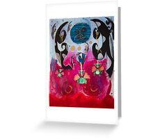 Baby Dragons Adventure Greeting Card