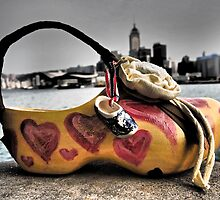 a shoe art bag in Hong Kong by LoveDutchArtEbs
