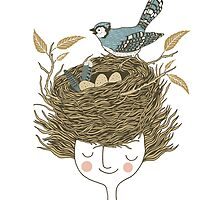 Bird Hair Day by Monica Gifford