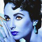 Elizabeth Taylor by Art Cinema Gallery