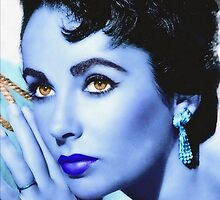Elizabeth Taylor by Art Cinema Gallery