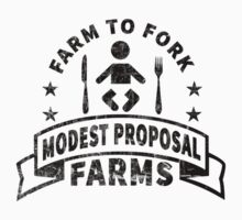 Modest Proposal - From Farm to Fork by PenguinPlot